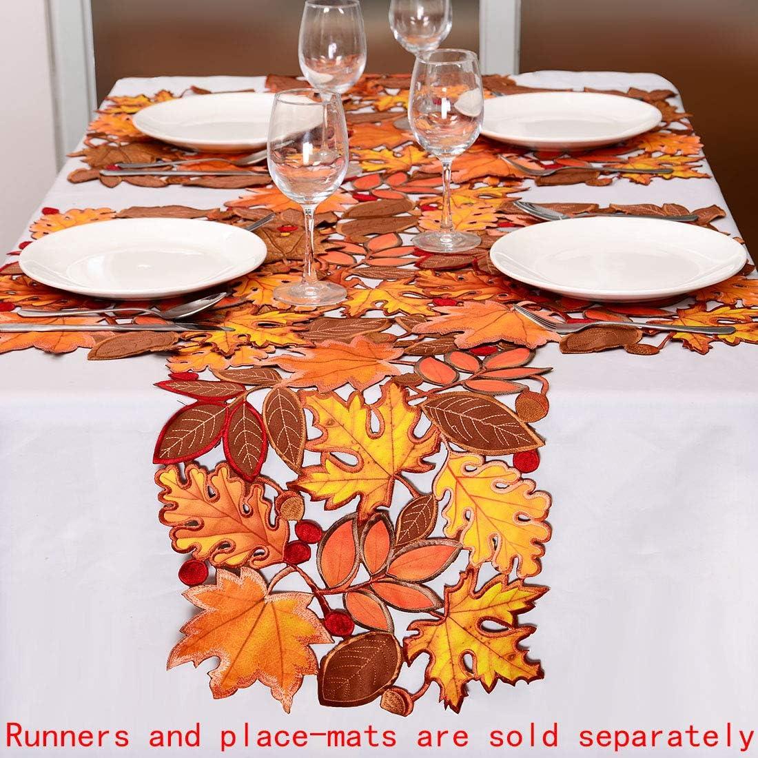 Plastic Canvas Pattern Autumn Splendor Kitchen Decor Fall Table Runner Fall Decor Place Mat Home Decor