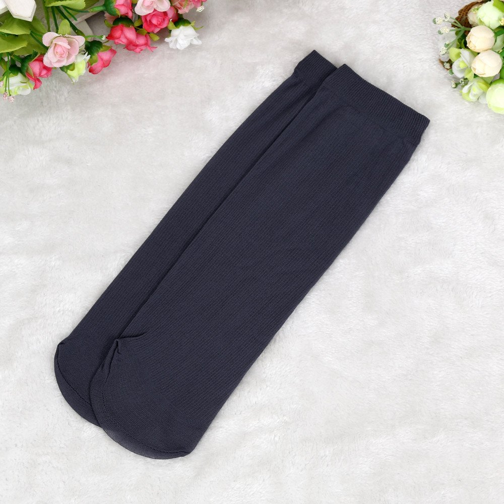 Men Socks Pack,Yamally 10 Pairs Socks Bamboo Fiber Ultra-thin Elastic Silky Short Silk Stockings for Men Women