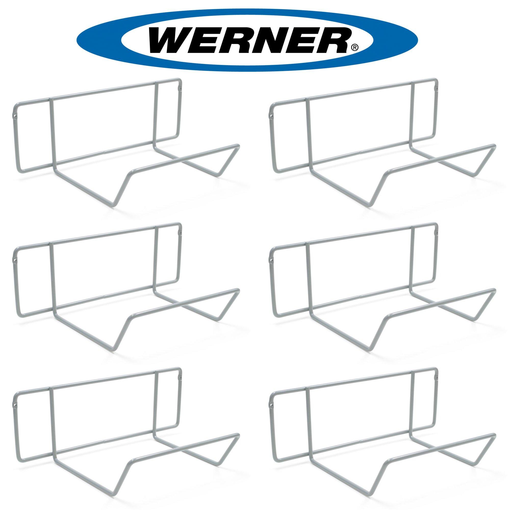 Werner AC11 Stepladder Wall Hanger / Ladder Storage / Organizer (Pack of 6)