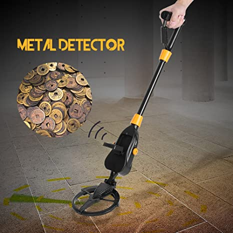 Detector de Metales, Detector de Mano de Metales de Alta Sensibilidad, Soporte de Brazo Cómodo, Pantalla LCD, Encontrar Oro, Plata, Monedas y Joyas, ...