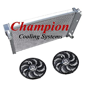 4 Row Performance Champion Radiator for 1977-1983 Chevrolet Corvette V8 Engine