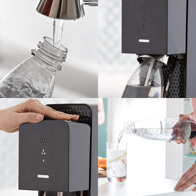 SodaStream Source Sparkling Water Maker, Carbonator Not Included, Black