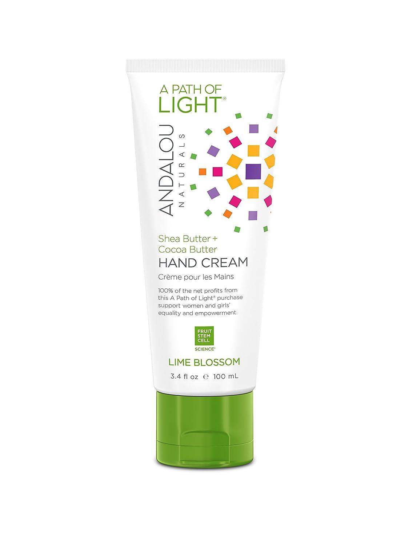 Andalou Naturals Lime Blossom Hand Cream, 3.4 fl. Oz. 859975002676