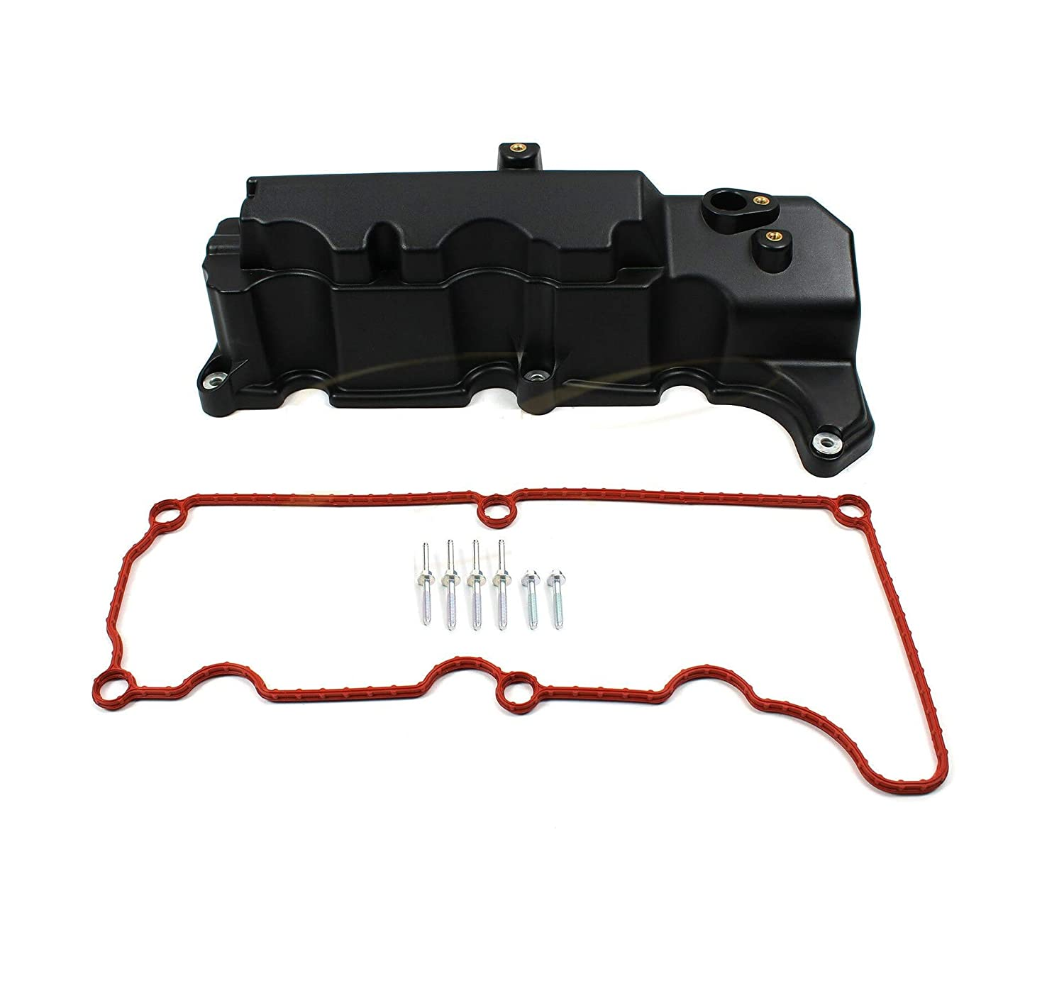 Engine Valve Cover Left Compatible w//Ford 01-07 Explorer Ranger Mercury Mountaineer 4.0