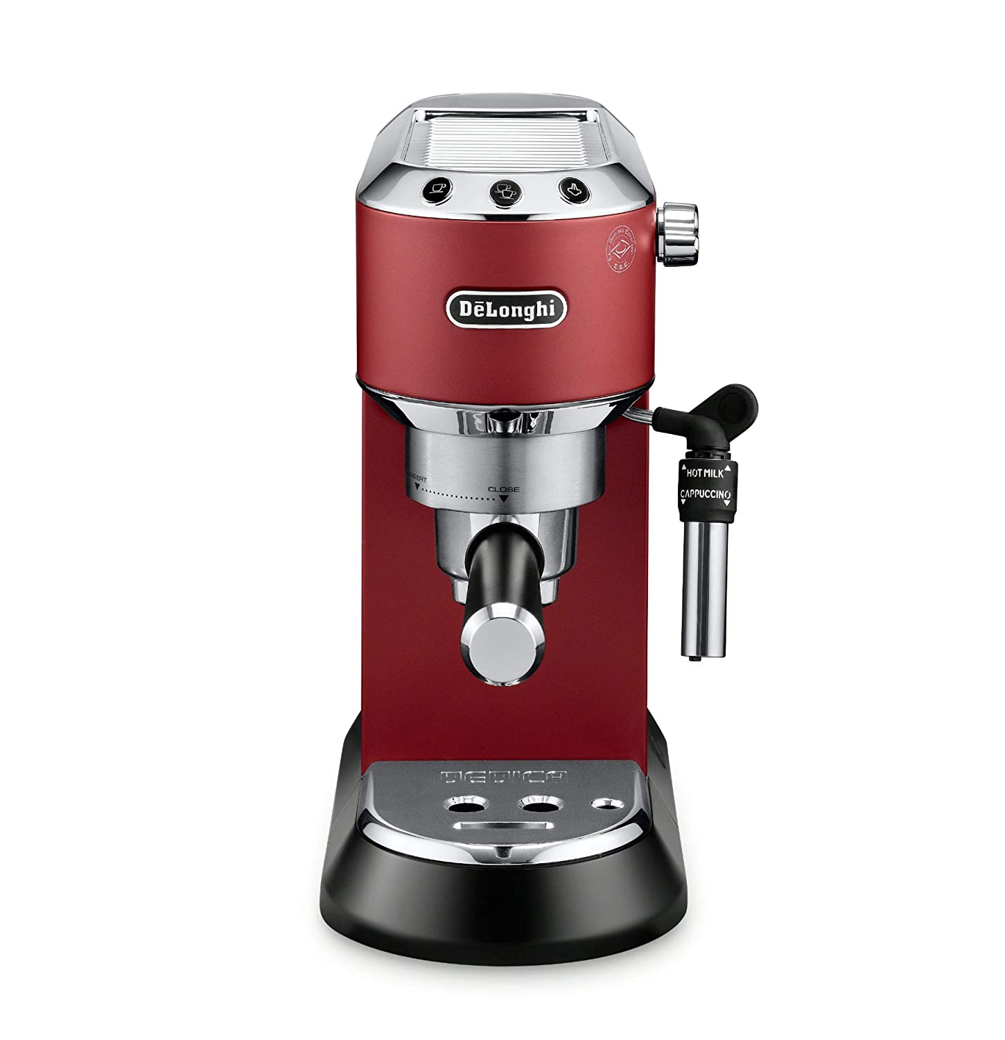 Delonghi Ec685r Freestanding Fully Automatic 11l Red Coffee Freestanding Red Stainless Steel 11 L Fully Automatic Manual