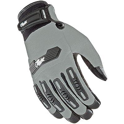 Joe Rocket - 1620-0601 Women's Velocity 2.0 Gloves (Silver, X-Small): Automotive