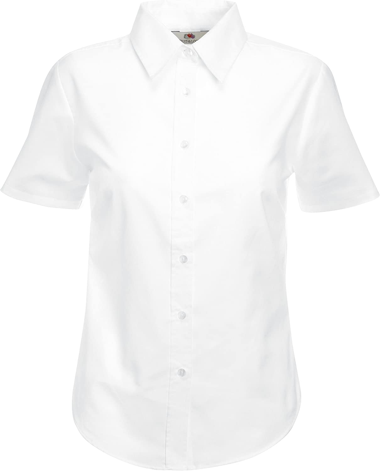 Girls Back To School 2 White Short Sleeved Shirts Age 3-4 Years New