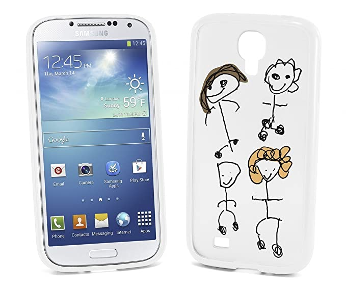 reputable site 4f661 e9dd1 Devicewear Sketchy: Design Your Own Samsung Galaxy S4 Case (Includes 5  inserts) (White)