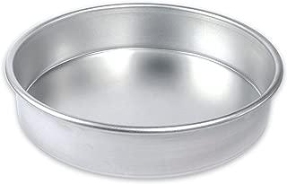 "product image for USA Pan Bare Aluminum Bakeware 1070LC-BB 9"" Round Cake Baking Pan Warp-Resistant, Rust-Proof Bakeware"