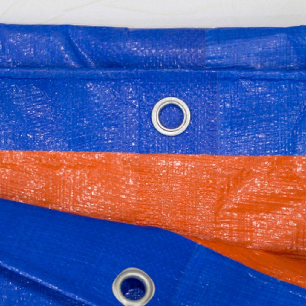 Tarpaulin Tarpaulin Tarpaulin Impermeabile Impermeabile Prossoezione Solare Telone Triciclo Prossoezione Solare Telone Tenda Telone, Blu  Arancio, Spessore 0,35 Mm, 180 G   M2, 14 Dimensioni Opzioni ( dimensioni   35 ) B07HGGFX6H 35 | Diversificate Nella Confezione  | Nuovi 0de821