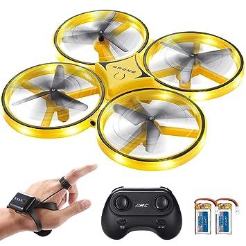SGILE RC Drone con LED, con Control de Gestos/Rotación de 360 ...