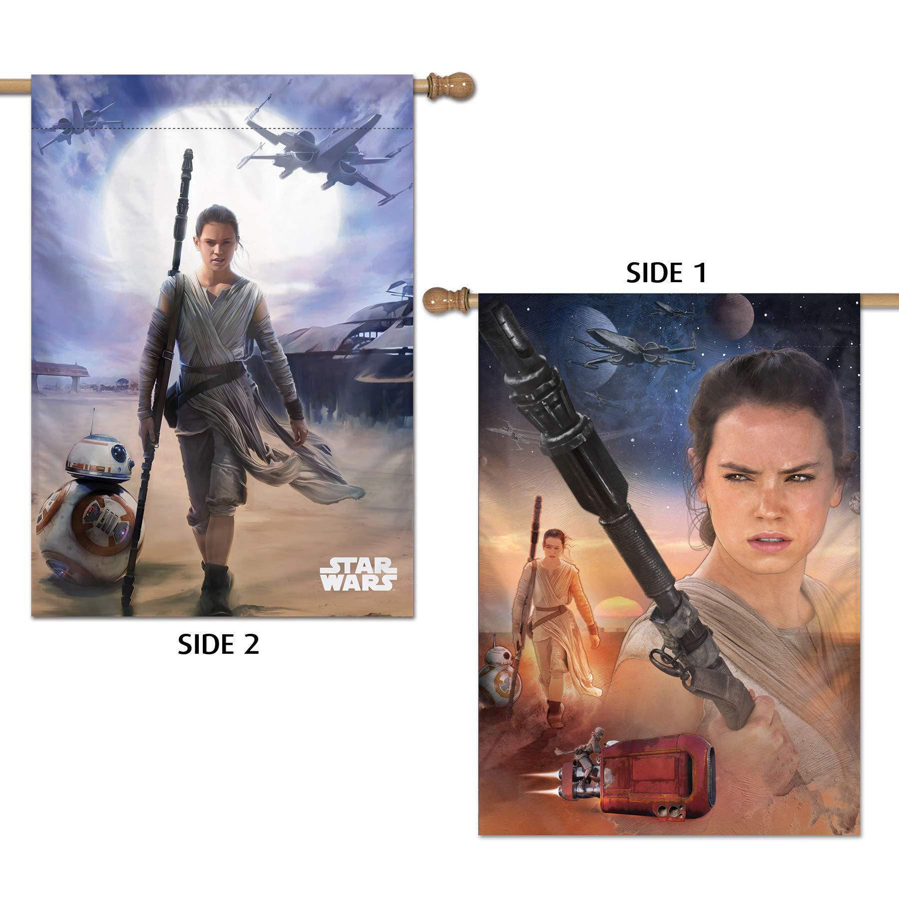 WinCraft Star Wars Star Wars Star Wars/New Trilogy 28'' x 40'' Vertical Flag 2 SidedWinCraft Star Wars/New Trilogy 28'' x 40'' Vertical Flag 2 Sided, Multicolor, NA by WinCraft