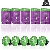 Gourmesso Lungo Arabica Forte - 50 Compatible Coffee Capsules to Nespresso Machines