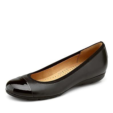 Gabor Shoes Fashion 34 161 47 Chaussures Femme Ballerines Noir Eu
