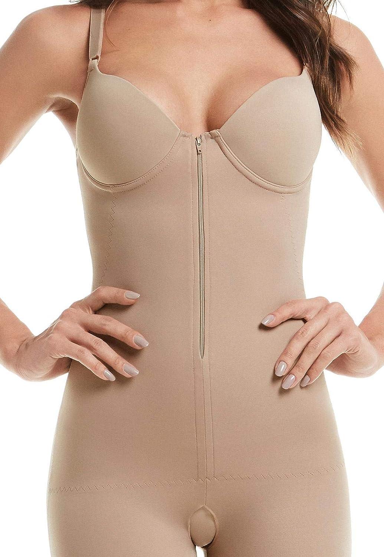 764f668de Cinta Modeladora com Perna Bojo e Zíper Mondress  Amazon.com.br  Amazon Moda