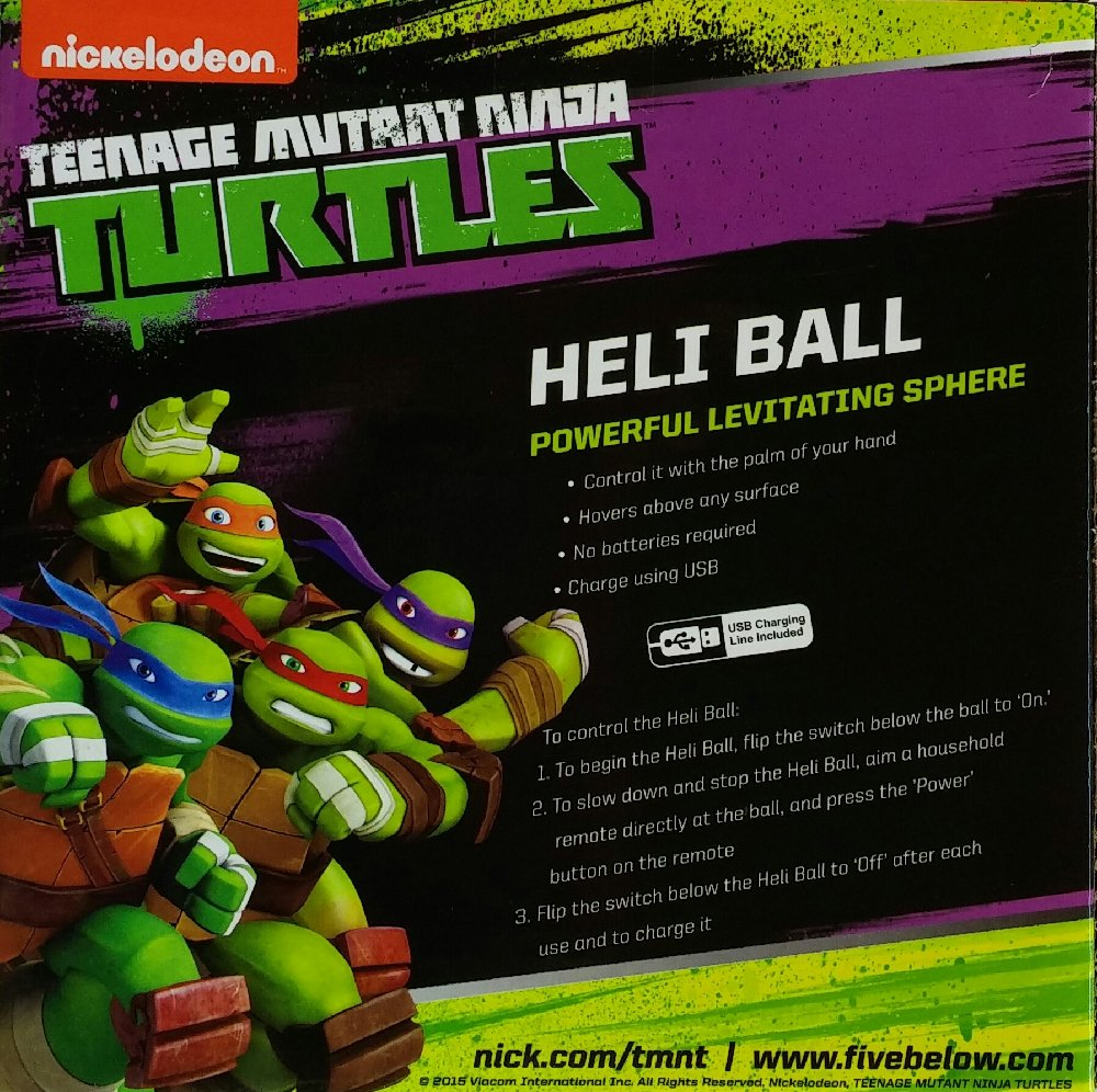 Amazon.com: Nickelodeon Teenage Mutant Ninja Turtle Heli ...