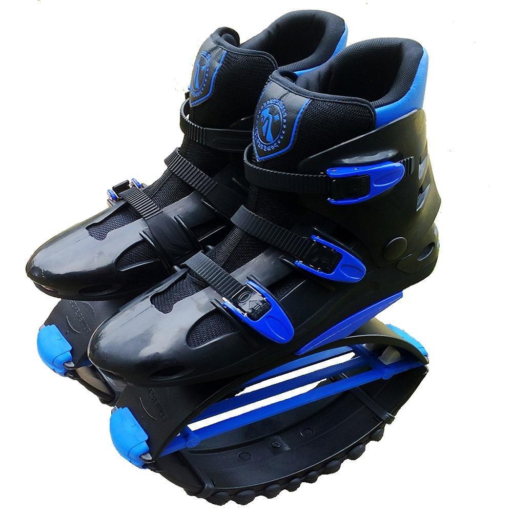 MIAO Springt Rebound Schuhe - Outdoor Jugend Sport Bounce Fitness Kangaroo Springen Schuhe