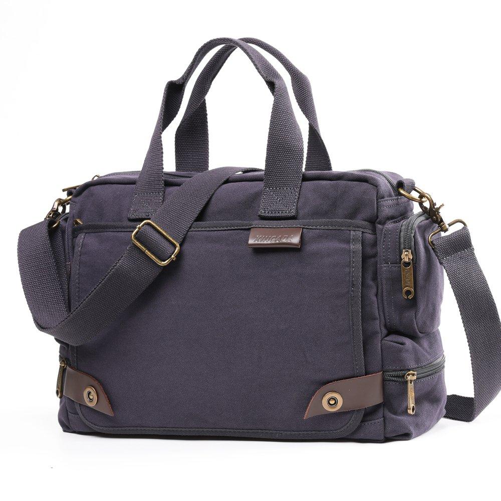 XINCADA Messenger Bag Man Purse Canvas Bag Crossbody Bags Shoulder Travel Bag for Men
