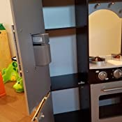 Amazon Com Kidkraft Ultimate Corner Play Kitchen With