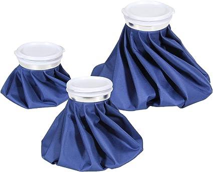 Amazon.com: Bolsa de hielo reutilizable Ohuhu, bolsa de agua ...