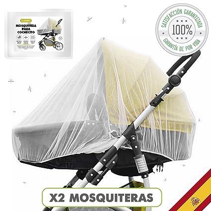 Tillmanns® Mosquitera Carrito Bebe Universal 2 Unidades – Mosquitera Cuna – Anti Mosquitos Para Bebe – Red Mosquitera Carrito