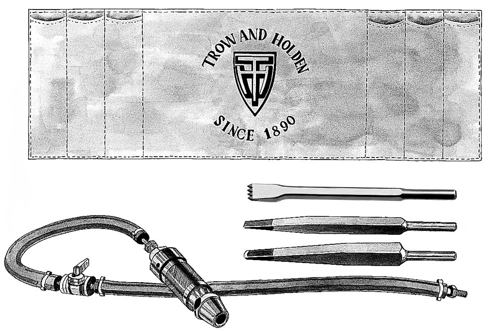 Air-Powered Carving Set with 3/4'' Piston