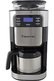 Suntec Wellness KAM-8274 Design Molinillo y cafetera de filtro Negro