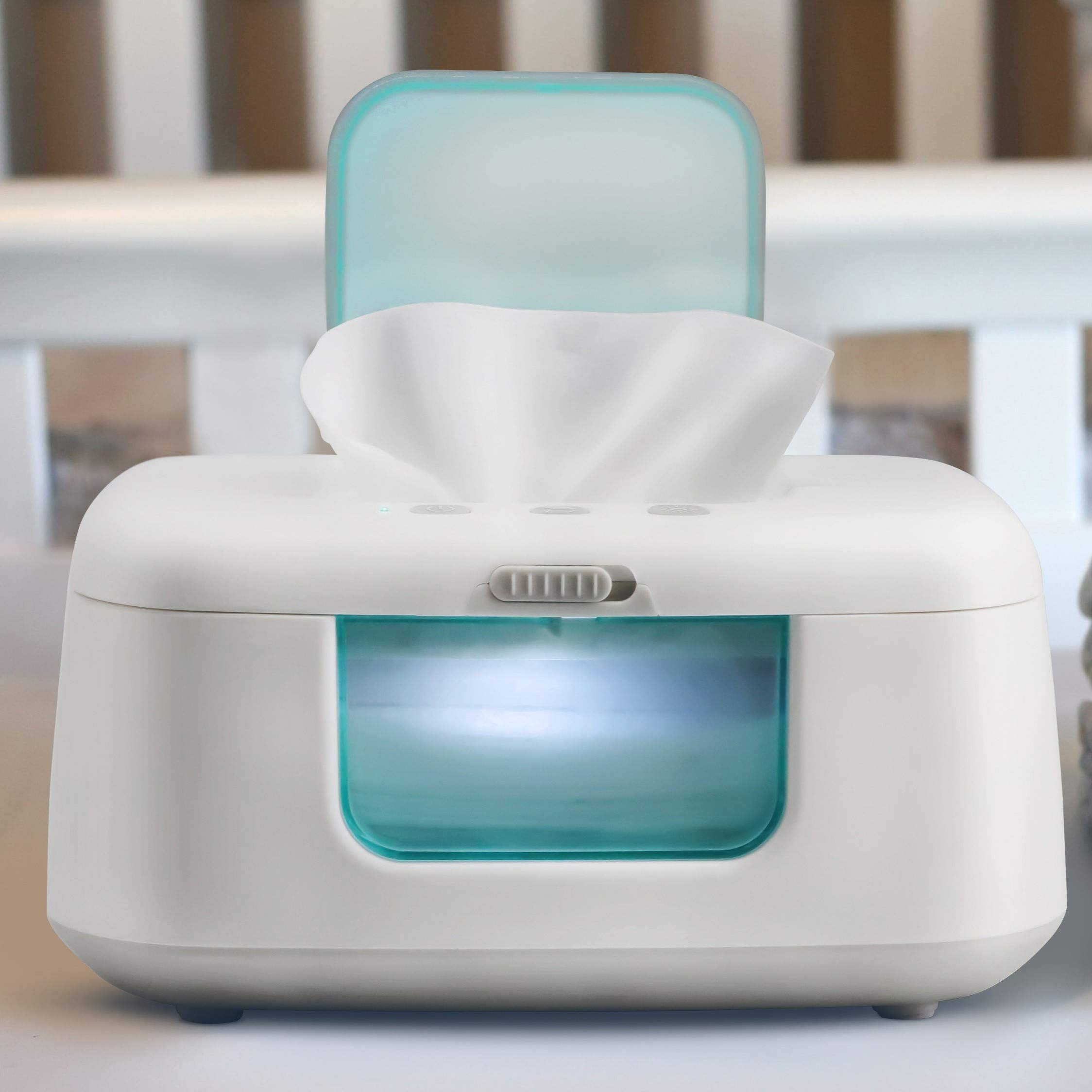 Discontinued - Modern Baby Wipe Warmer & Dispenser with Light & On/Off Switch - Jool Baby