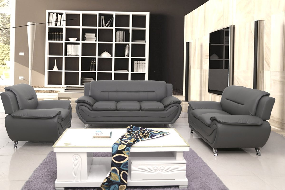 Amazon.com: Container Furniture Direct S5397-3PC Michael 3 Piece ...