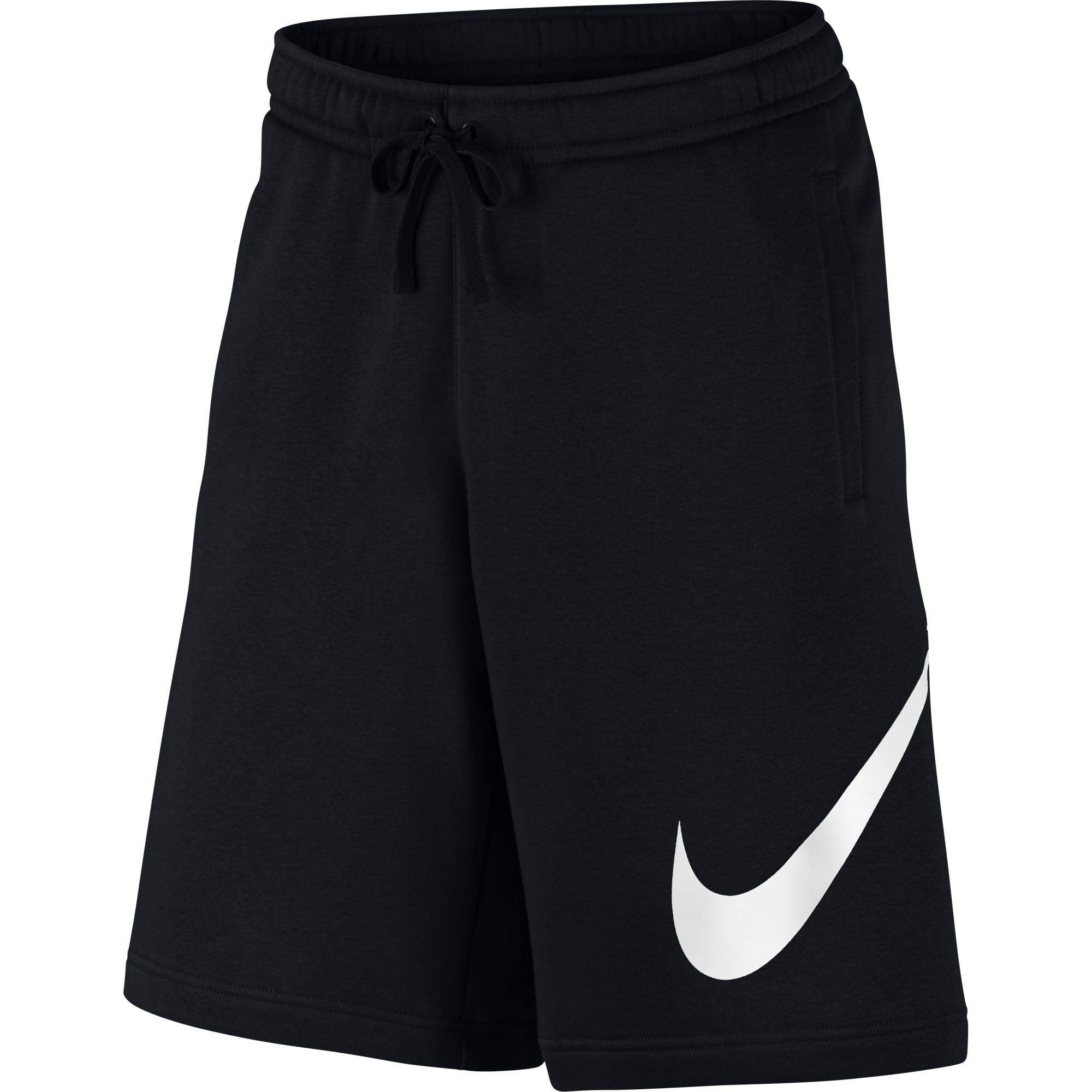 Nike Men's Sportwear Club Shorts, Black/White, X-Large by Nike