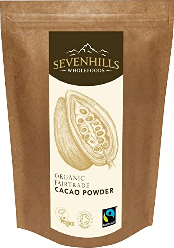 Sevenhills Wholefoods Organic Fairtrade Cacao Powder 1kg