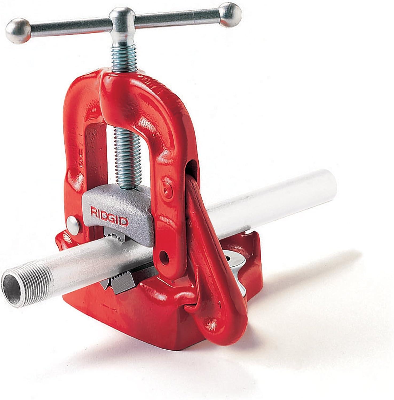 Ridgid Tools 40080 1//8-Inch-To-2-Inch Capacity Bench Yoke Vise