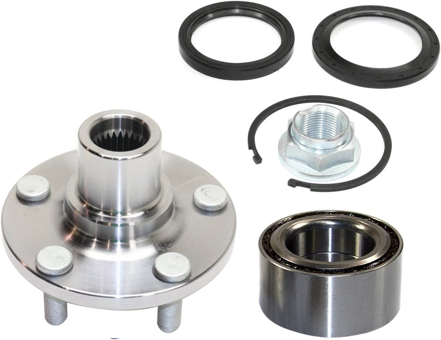 For Vw Caddy 2004/>2016 1x Front Hub Wheel Bearing Kit 3 Bolt Left Right