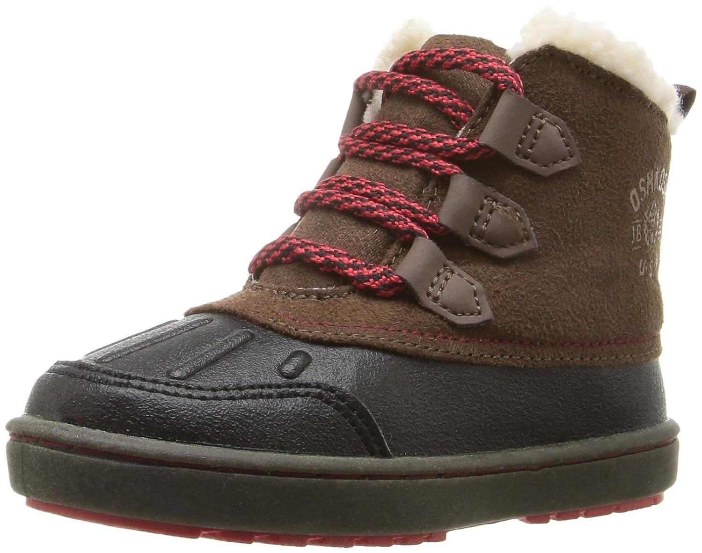 ce7aae5b22 Amazon.com | OshKosh B'Gosh Boys' Harrison Boot, Black/Brown, 5 M US Toddler  | Boots
