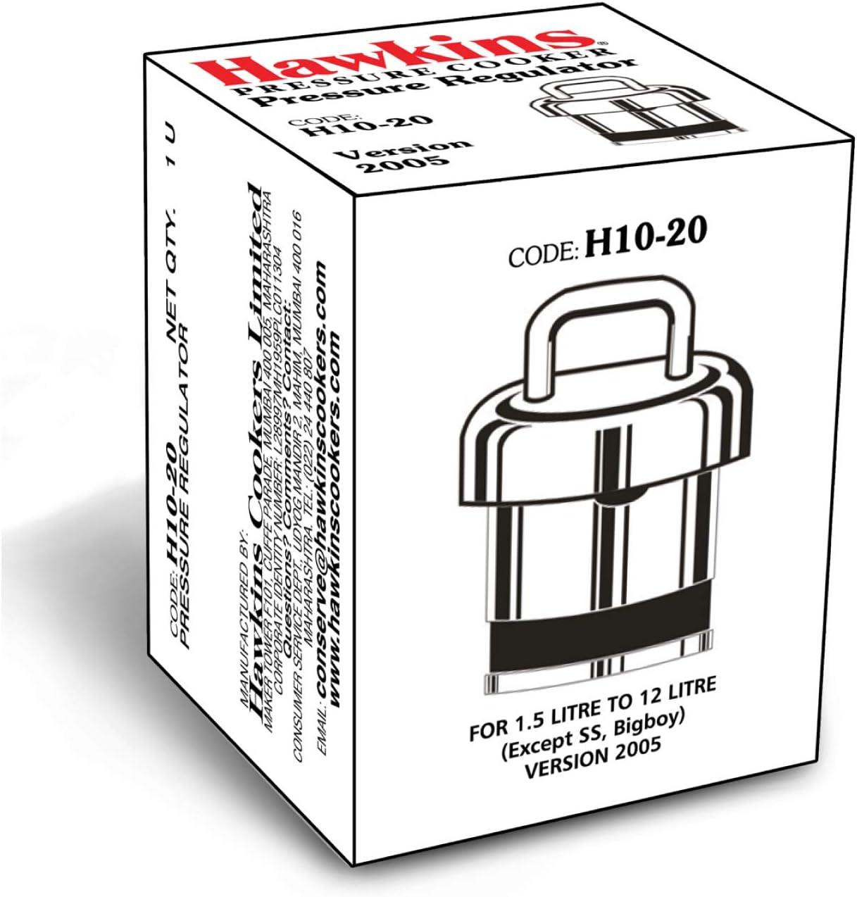 Hawkins Pressure Regulator for Classic Aluminum and Stainless Steel Pressure Cookers