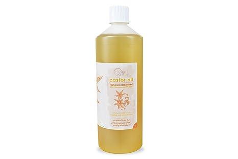 100% Pure, prensado en frío aceite de ricino BP grado