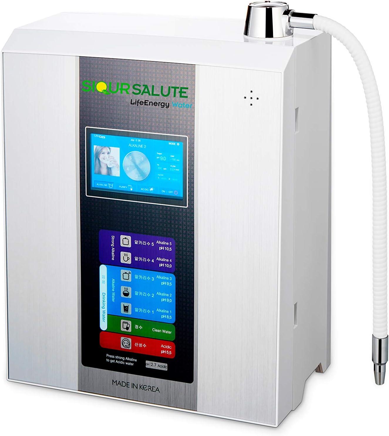 Ionizador de agua LifeEnergy Water, con filtros tecnológicos de 10 ...