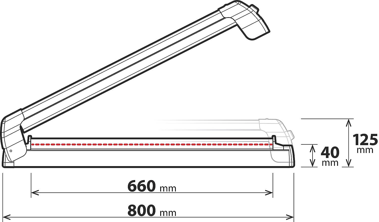 Lampa N40011 Nordic King Ski Rack