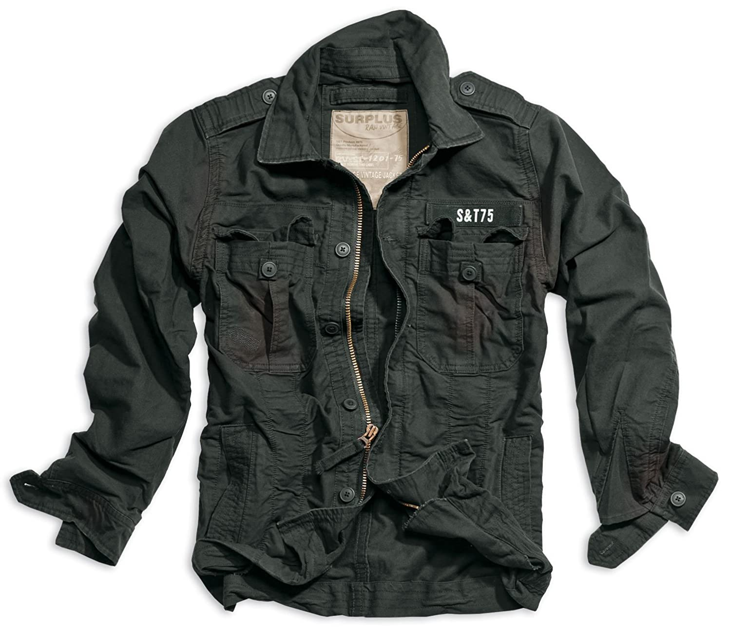 Trooper Heritage Vintage Jacket - L, black