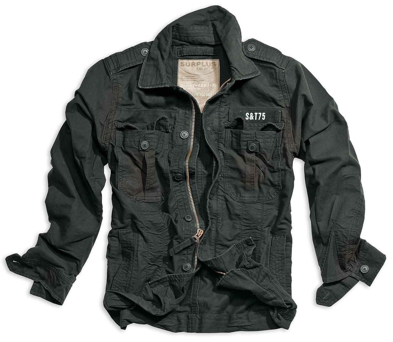 Trooper Heritage Vintage Jacket - S, black