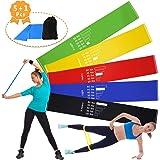 Homga Bandas de Fitness/Bandas de Resistencia, Rubber Band Set de Bandas de Ejercicios Bandas de expansión, Banda elástica para Entrenamiento de Resistencia, Gimnasio en casa, Yoga, Pilates
