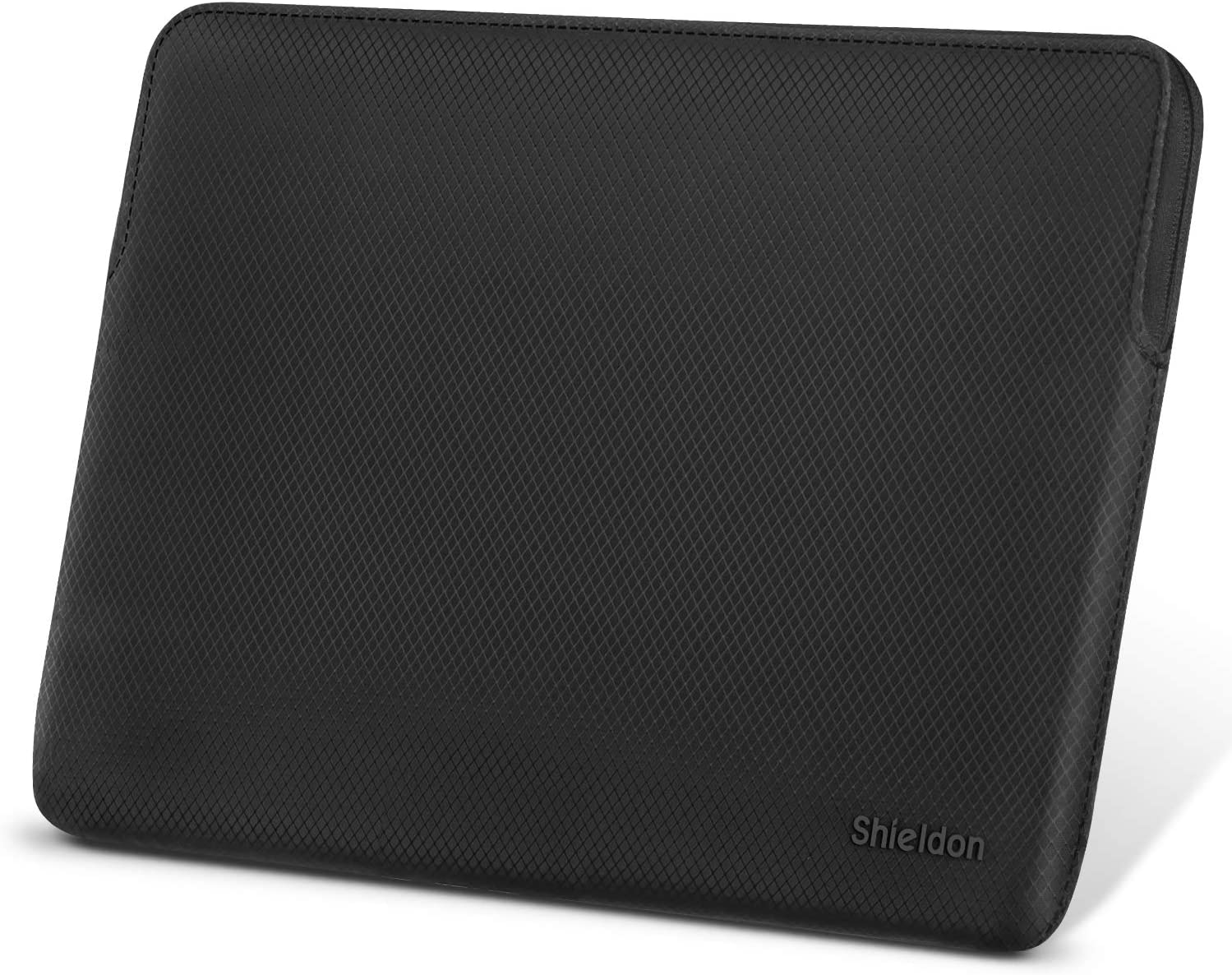 SHIELDON Laptop Case Sleeve,13-13.3 Inch Water Resistant Laptop Sleeve/Notebook Pocket Case/Tablet Briefcase Carrying Bag Compatible with MacBook Air Retina,MacBook Pro Retina,Inspiron 7000 - Black