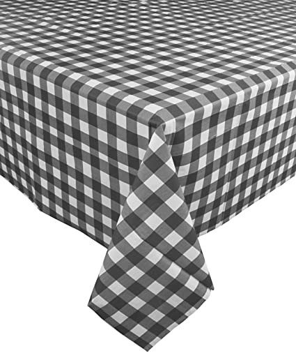 Amazon Com Ph Gingham Checkered Disposable Party Racing Tablecloths