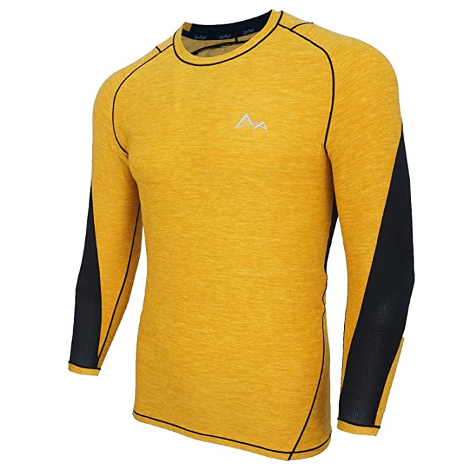 60ef5c26d8c Turaag Long Sleeve T-Shirt for Men Quick Dry Compression Two Way Air  Circulation