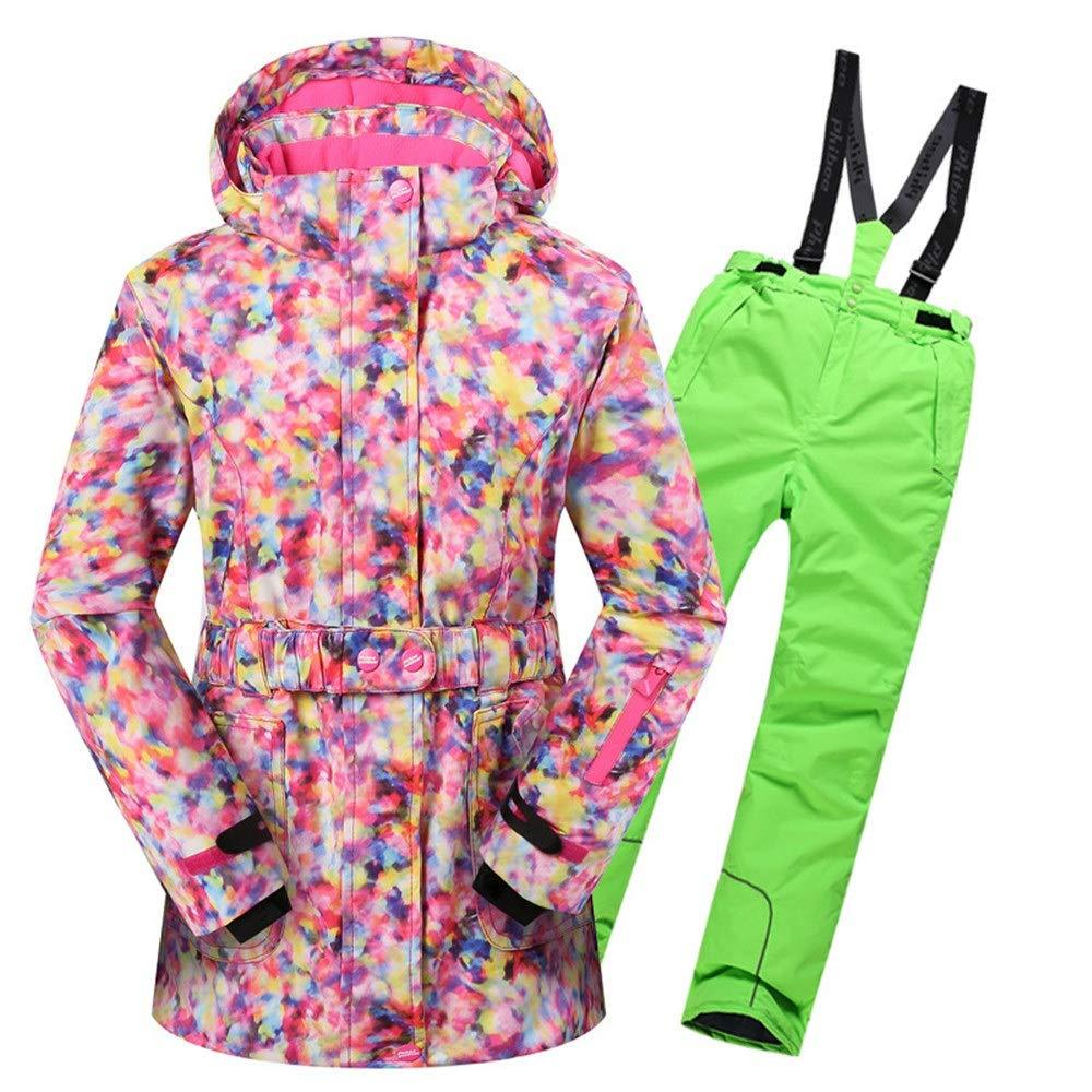 Giacca da Sci per Ragazza Giacca da Sci Antivento Antivento Antivento con Cappuccio da Snowsuit, Impermeabile e Caldo, con 2 Pantaloni Cappotto Invernale per Bambini Impermeabile (Coloreee   Rosso, Dimensione   134 140)B07KW1PM5M158 164 verde | Gli Ordini Sono Benvenuti  |  0ecb2f