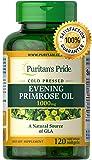 Aceite de Onagra | Puritans Pride | Suplemento | 1000 mg | 120 Pastillas