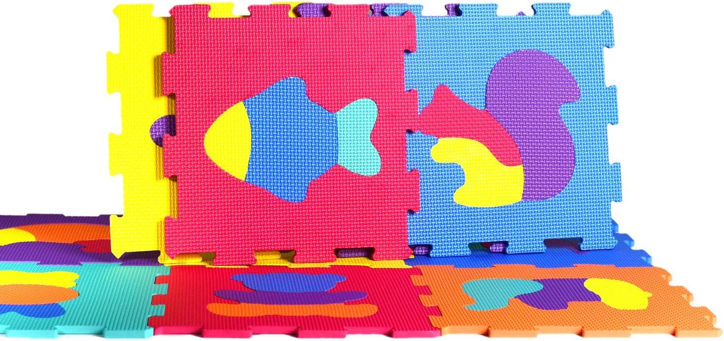 Bleu Musculation YC-GJLb25N Beige Matelas Puzzle pour Mat/ériel Fitness Tapis eveil b/éb/é Gym Gris Yostrong Tapis De Protection de Sol 25 Dalles en Mousse