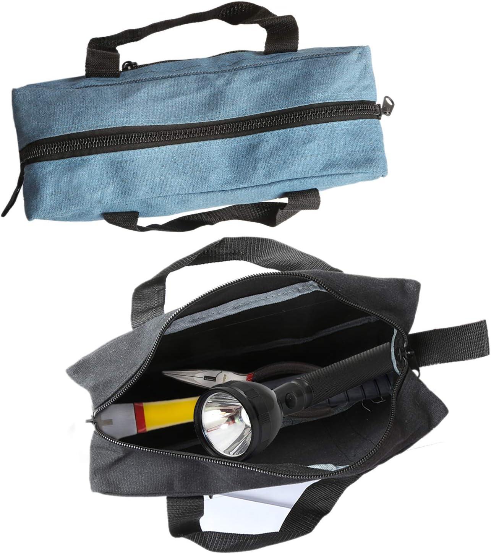 Tool Bags Diy Tools Organizer Tote Bags For Electrician Gardening Includes 15 Medium 13 Small Tool Bag Utility Organizer Storage Bags Hvac More Canvas Tool Bag Combo Plumbing