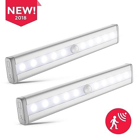 Lámpara LED del Armario I Barra de Luz I LED Nocturna Inalámbrica con Sensor de Movimiento