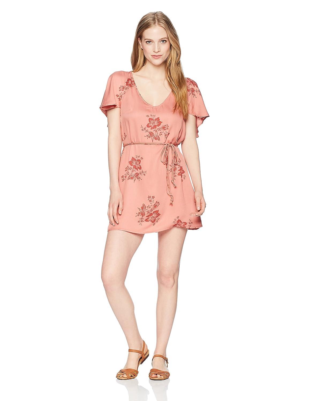 c0a4ecb9bddb Amazon.com  Billabong Women s Fine Flutter Dress  Clothing